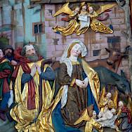 Klosterkirche decorations in Blaubeuren, Germany. Photo via Flickr:dierk schaefer