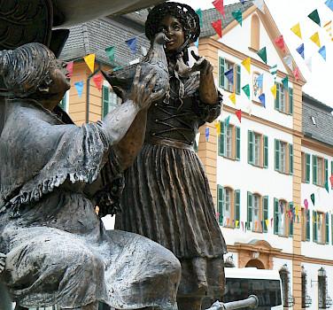 Statues in Ehingen, Germany. Photo via Flickr:dierk schaefer