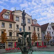 Main square in Ehingen, Alb-Donau, Germany. Photo via Wikimedia Commons:Szed Laszlo