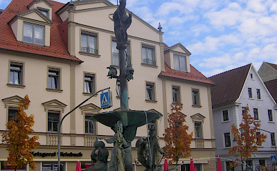 Main square in Ehingen, Alb-Donau, Germany. Photo via Wikimedia Commons:Szed Laszlo