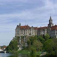 Sigmaringen Castle in Sigmaringen, Baden-Württemberg, Germany. Photo via Wikimedia Commons:Berthold Werner