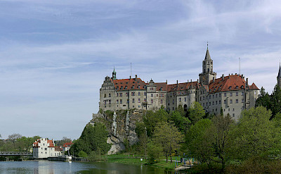 Sigmaringen Castle in Sigmaringen, Baden-Württemberg, Germany. Photo via Wikimedia Commons:Berthold Werner