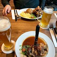 Typical German meal in Ulm, Bavaria, Germany. Photo via Flickr:Andrew