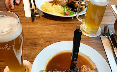 Typical German meal in Ulm, Bavaria, Germany. Photo via Flickr:Andrew