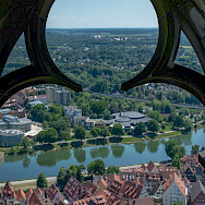Beautiful Ulm along the Danube River in Bavaria, Germany. Photo via Flickr:Alessandro Caproni