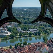 Beautiful Ulm along the Danube River in Bavaria, Germany. Photo via Flickr:Alessandro Caproni