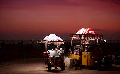 Uncle John's Ice Cream truck in Kerala, India. Photo via Flickr:Vinoth Chandar