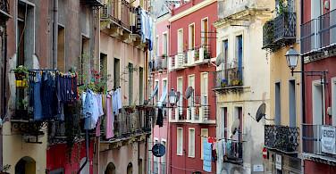 Everyday life in Cagliari, Sardinia, Italy. Photo via Flickr:Simon Blackley