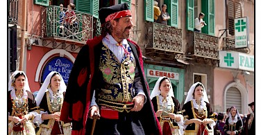 Feast of Sant'Efis in Cagliari, Sardinia, Italy. Photo via Flickr:usadifranci