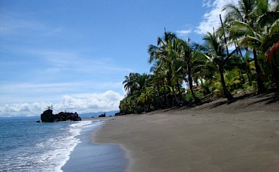 Beach in Choco region of Colombia.