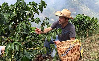 Coffee tour in the Antioquira's mountains.