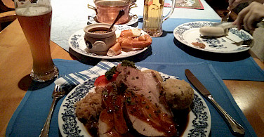 Austrians are love meat and beer heavy meals. Photo via Flickr:Aleksandr Zykov