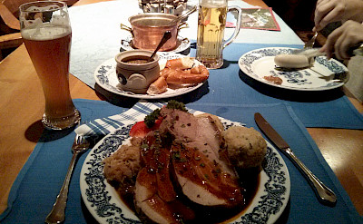 Austrians are love meat and beer heavy meals. Flickr:Aleksandr Zykov