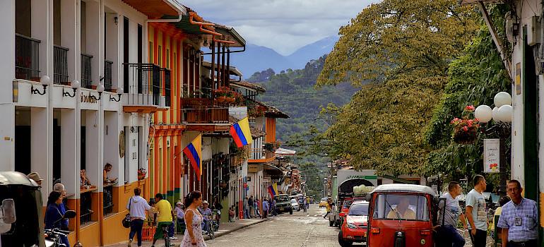 Jardin, Colombia. Photo via Flickr:Pedro Szekely