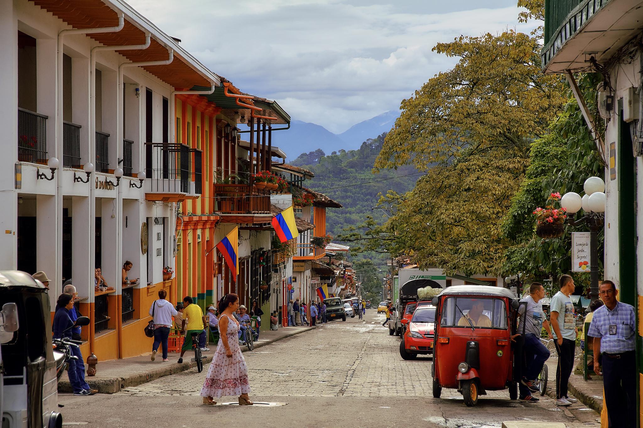 Colombia bike tours bike tours in colombia for Jardin kolumbien