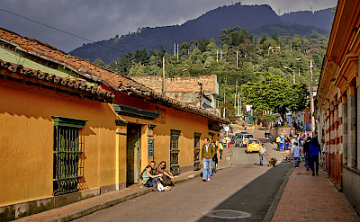 Bogota, the capital of Colombia. Photo via Flickr:Pedro Szekely