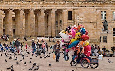 Bike rest in Bogotá, Colombia. Flickr:Pedro Szekely