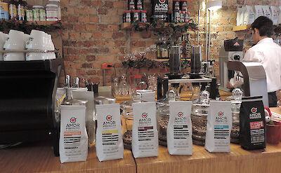 Coffee shop in Bogotá, Colombia. Flickr:kerryrMD2014