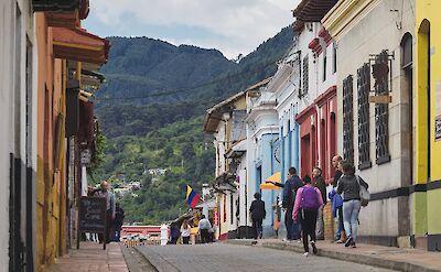 La Candelaria, Bogotá, Colombia. Flickr:Pedro Szekely