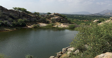Countryside of Rajasthan, India.