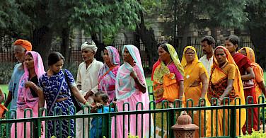 Beautiful women in Dehi, India. Photo via Flickr:Russ Bowling