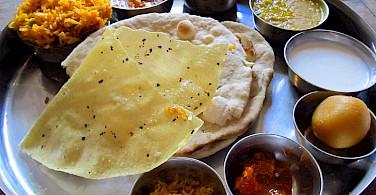 Delicious treats in Jodphur, Rajasthan, India. Flickr:Tomas Belcik
