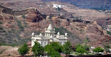 Palace in Jodhpur, Rajasthan, India. Photo via Flickr:pegatina