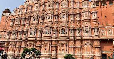Palace of Winds taken by Hennie in Jaipur, Rajasthan, India.