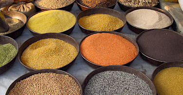 Spices - take some home!! In Jodphur, Rajasthan, India. Flickr:Tomas Belcik