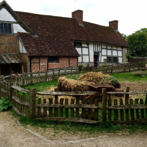 Warwick CastleTudor Era Barnyard at Mary Arden's Farm