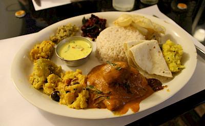 Spicy fish masala in Kerala, India. Photo via Flickr:Connie Ma