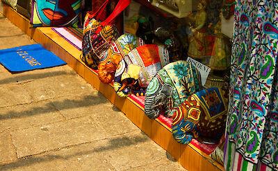 Souvenirs in Fort Kochi, Kerala, India. Flickr:Elroy Serrao