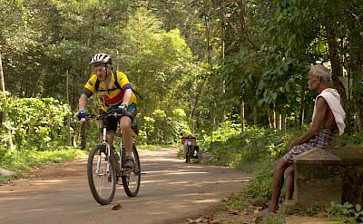 Spectator sport in Kerala, India.