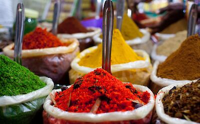India is known for spices!! Flickr:Dennis Yang