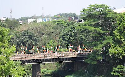 Old Bridge in Thodupuzha, Kerala, India. CC:Sudeepjames