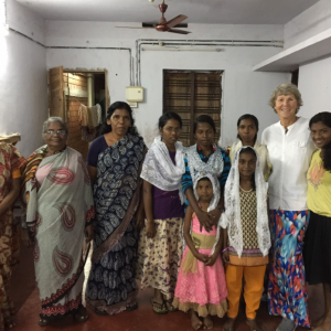 Visiting an orphanage in Changanacheri