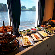 Breakfast Buffet on Magnifique III - Bike & Boat Tours