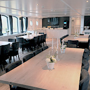 Magnifique III Restaurant - Bike & Boat Tours