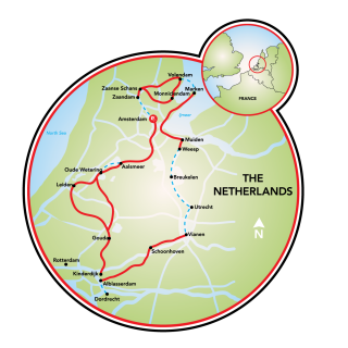 Best of Holland Map
