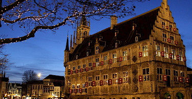 Town Hall in Gouda is hugely impressive. The Netherlands. Flickr:Sander van der Wel