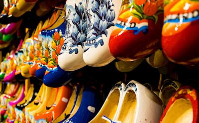 Klompen for sale at the Zaanse Schans, Zaandam, the Netherlands. Flickr:Zicario van Aalderen