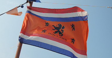 Dutch patriotism in Marken, North Holland, the Netherlands. Photo via Flickr:Farah Tsai