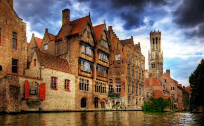 Bruges in Belgium is a treasure! Photo via Flickr:Wolfgang Staudt