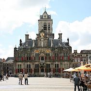 Bike rest in Delft, South Holland, the Netherlands. Photo via Flickr:bert knottenbeld