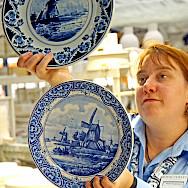 Delftware in Delft, South Holland, the Netherlands. Photo via Flickr:Dennis Jarvis