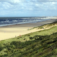 Biking the beaches, bunkers and dunes at Katwijk, South Holland, the Netherlands. Photo via Flickr:David van der Mark