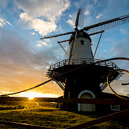 Windmill in Veere, the Netherlands. Photo via Flickr:dynphoto