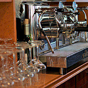 Bar area on the Arlene II