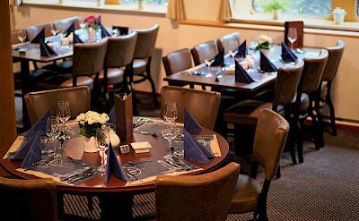 Restaurant/Dining Room on the Arlene II   Bike & Boat Tours
