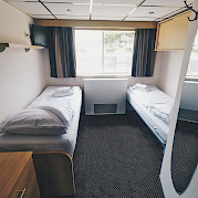 Upper Deck Twin Cabin on the Arlene II